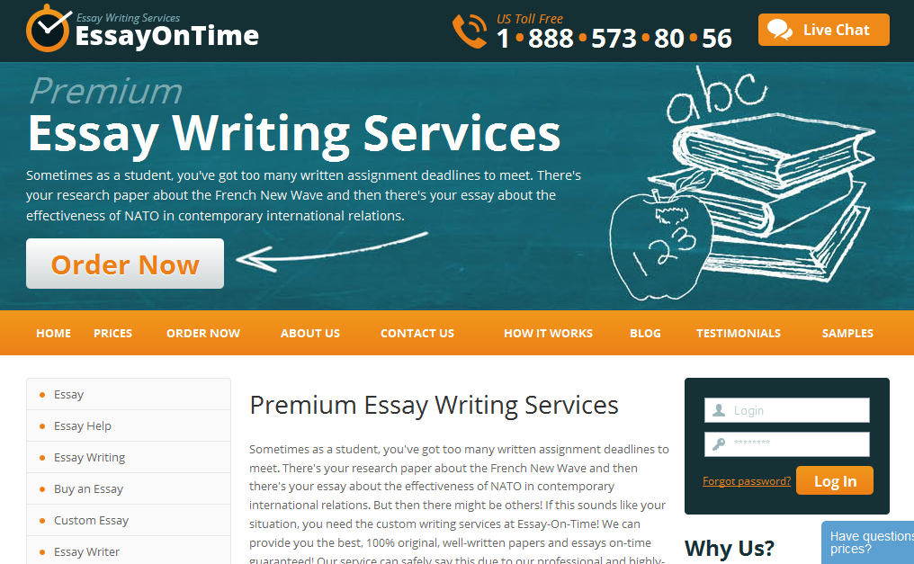 Best essay writing service website