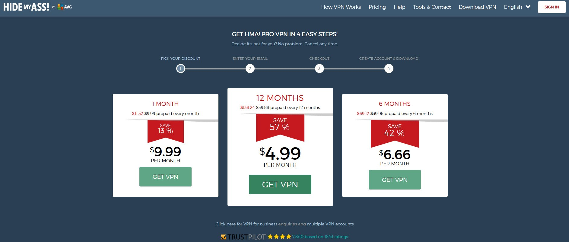 Hide My Ass Vpn Compare