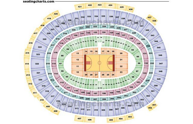 New York Knicks Seating Chart For Madison Square Garden