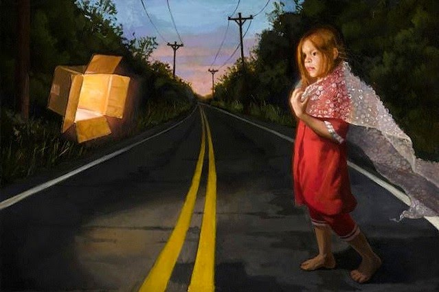 Realistic Figurative Paintings