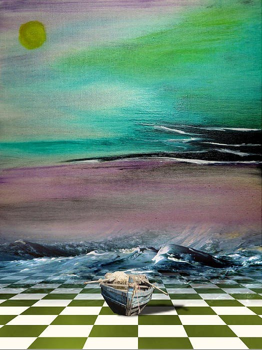 Surreal Abstract Paintings