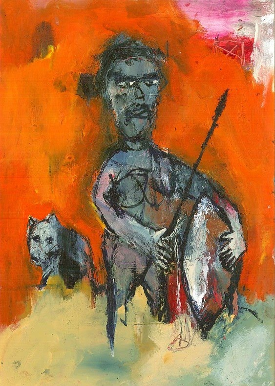 Primitivism Figurative Paintings