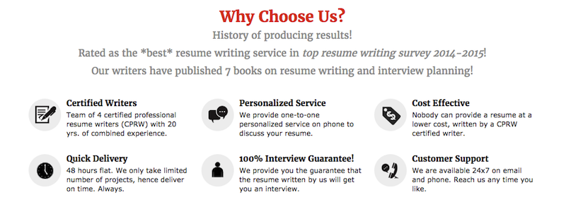 ProResumeWritingServices.com Reviews
