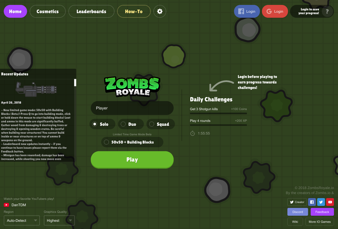 Zombsroyale Io Unblocked All Unblocked Games 24h