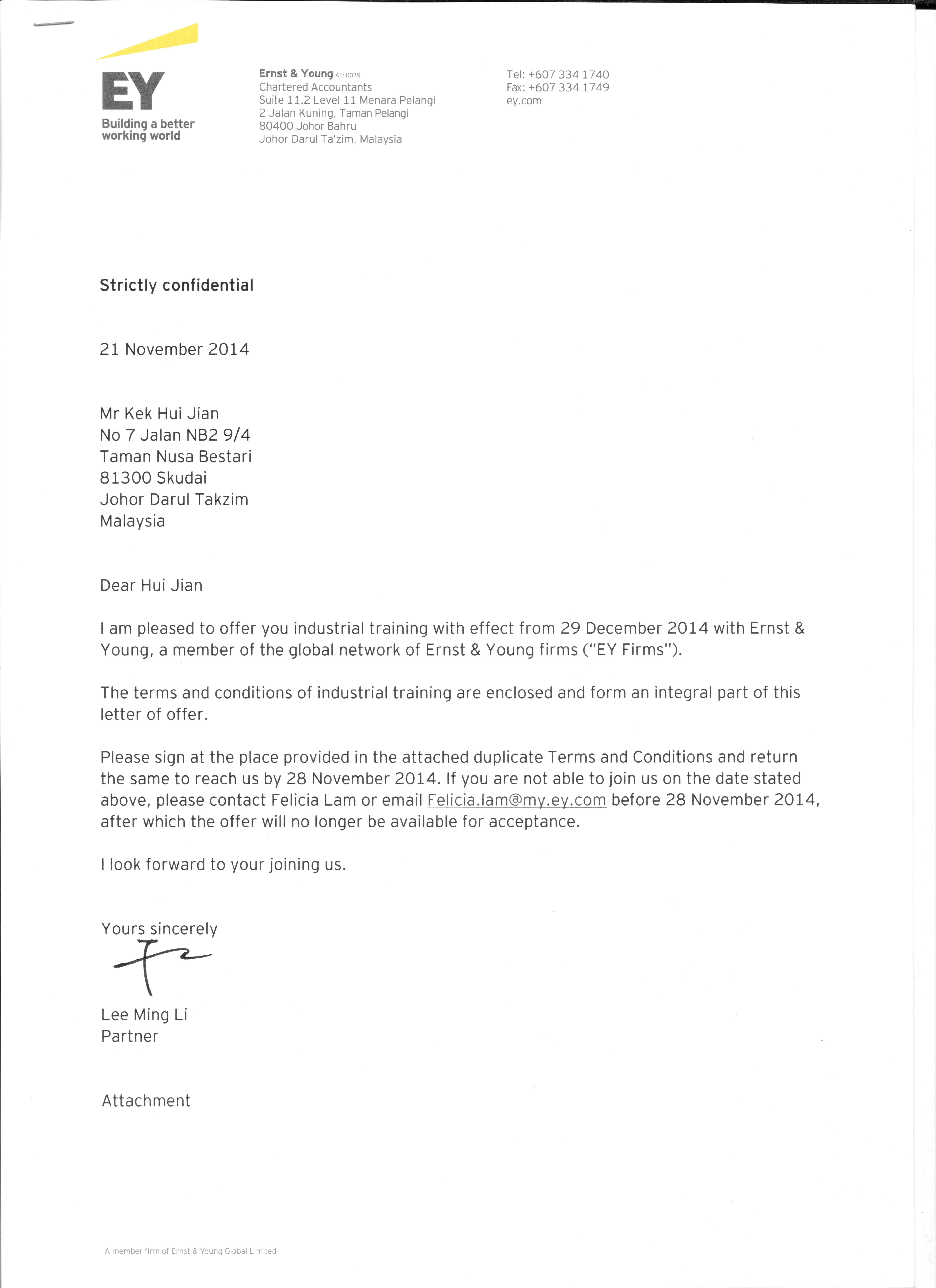 Appointment Letter Request behind the wheel training orange – Appointment Letter