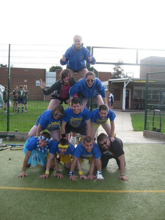 Bluegreenzeds pyramid at Silz August 2012