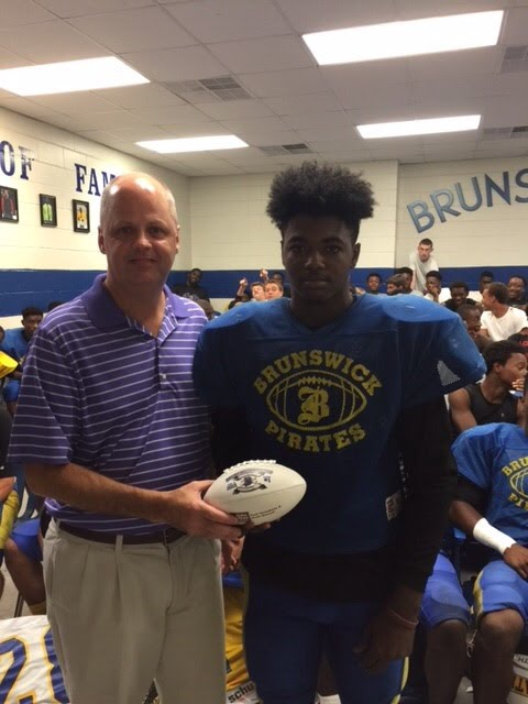 Player of the Week for 8-21-2015