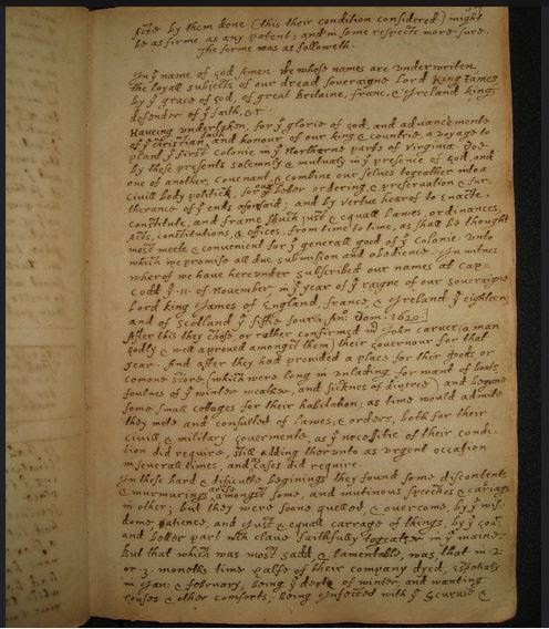 of plymouth plantation sophomore english images of the original manuscript