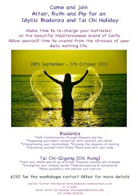 Biodanza Holiday in Corfu 28th September - 5th October