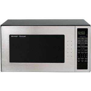 Black Friday On Sharp R 530es 2 Cubic Foot 1200 Watt Microwave Stainless Steel And Black Free Shipping Shopping Microwave