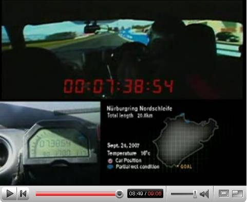 08 Cobalt SS turbo video around the 'Ring
