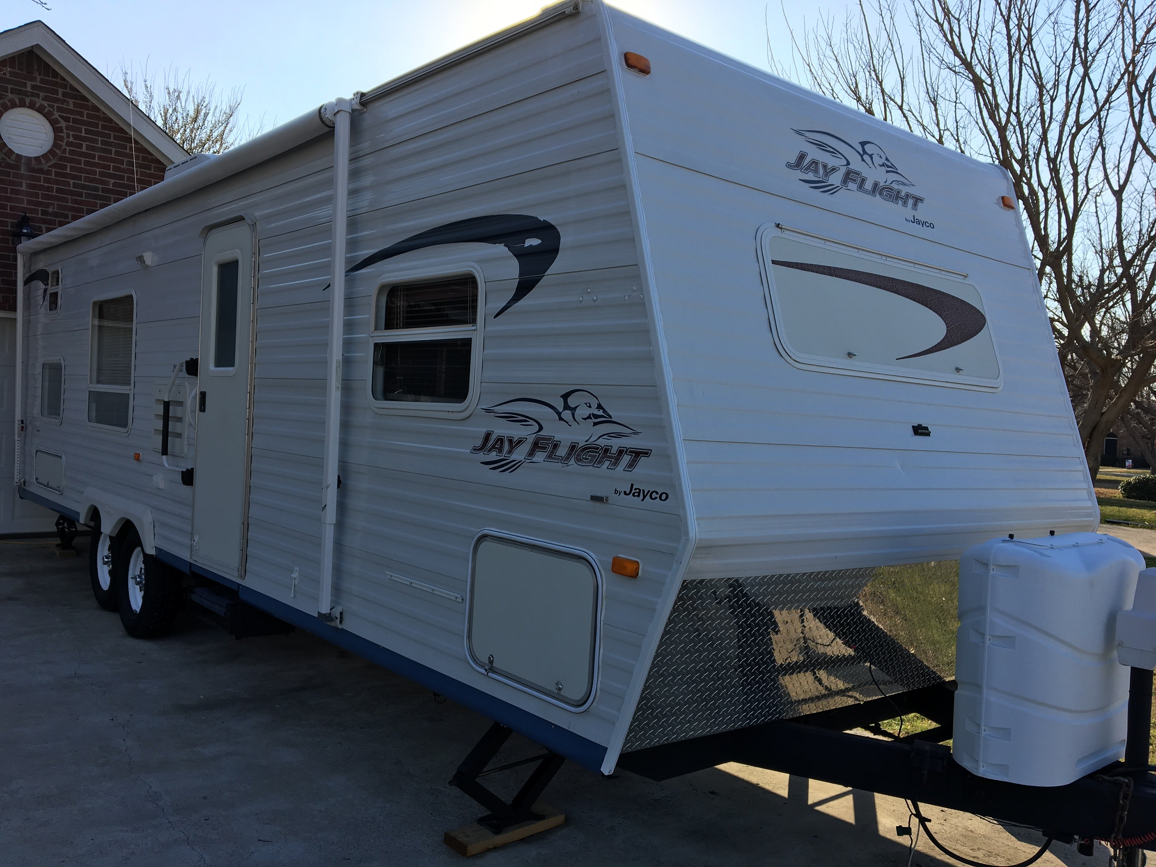Our beloved travel trailer needs a new home.