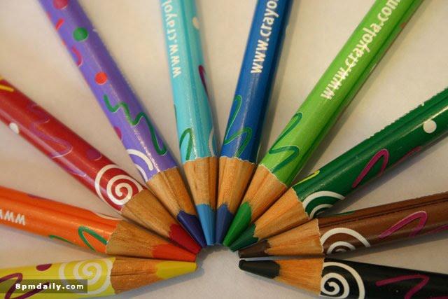 مدادهای رنگی اش