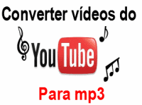 Como converter videos do Youtube para mp3 online