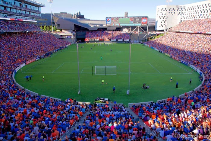 Check out FC Cincinnati! They are the highest attended football team in the lower division of the USA!