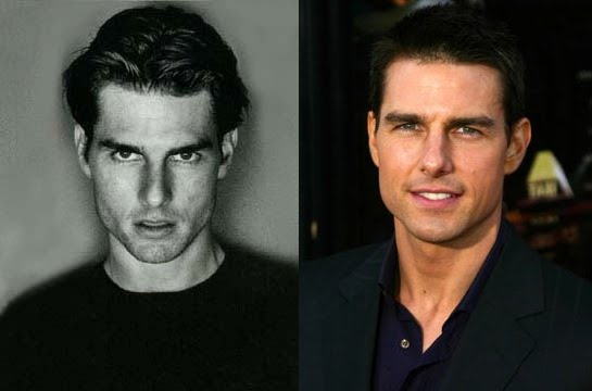 tom cruise younger. Tom Cruise spent the 1980s