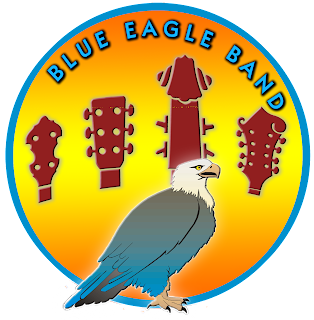 Blue Eagle Band circular logo