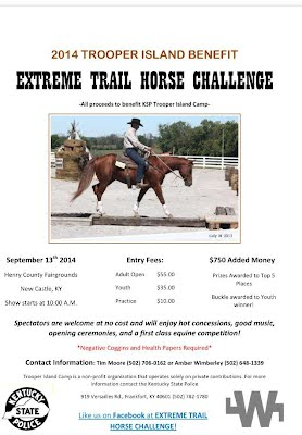 Extreme Trail Horse Challenge Flyer