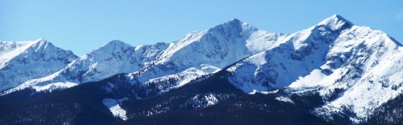 Ten Mile Range Breckenridge Colorado