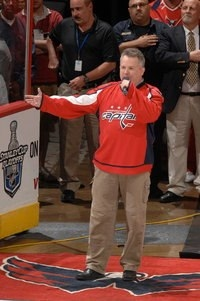 Bob McDonald, Anthem Singer