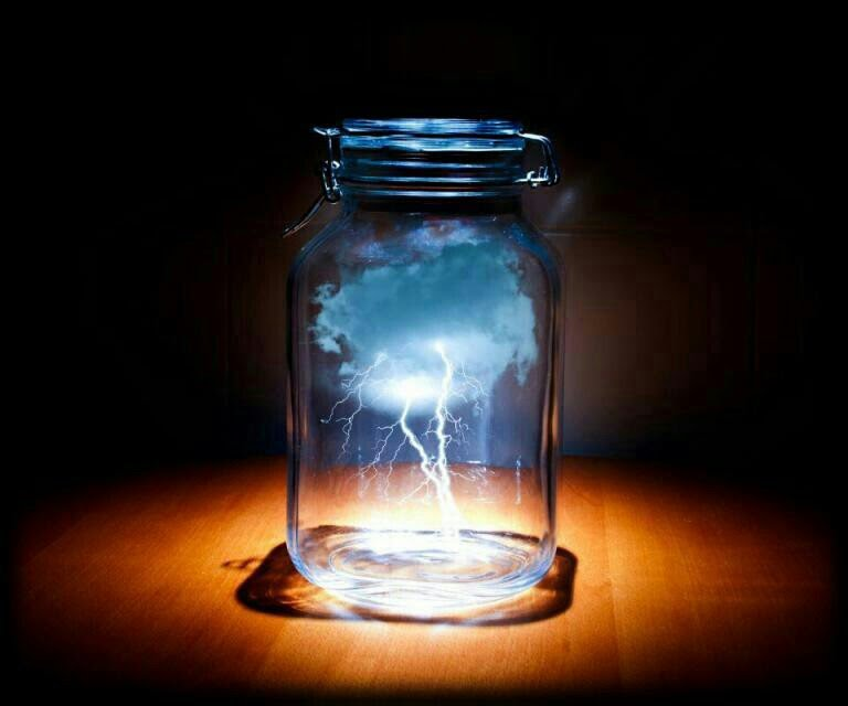 lighting in a jar. LIGHTNING IN A JAR EXPERIMENT Lighting In A Jar