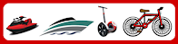 6 * Rentals (cars, bicycles, boats, jet ski, segway)