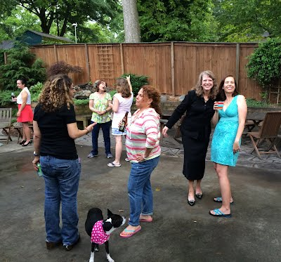 Boulevard Heights meeting and backyard social