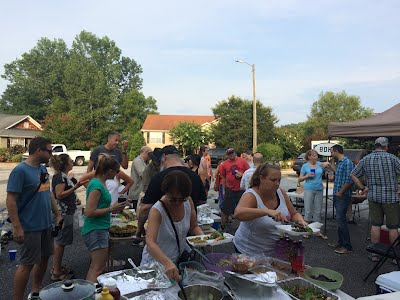 Boulevard Heights block party