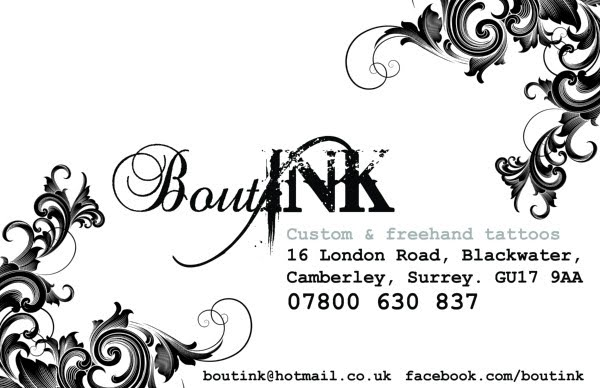 boutink custom and freehand tattoo studio. Black Bedroom Furniture Sets. Home Design Ideas
