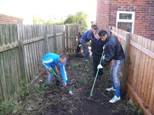 Students Working in the Community
