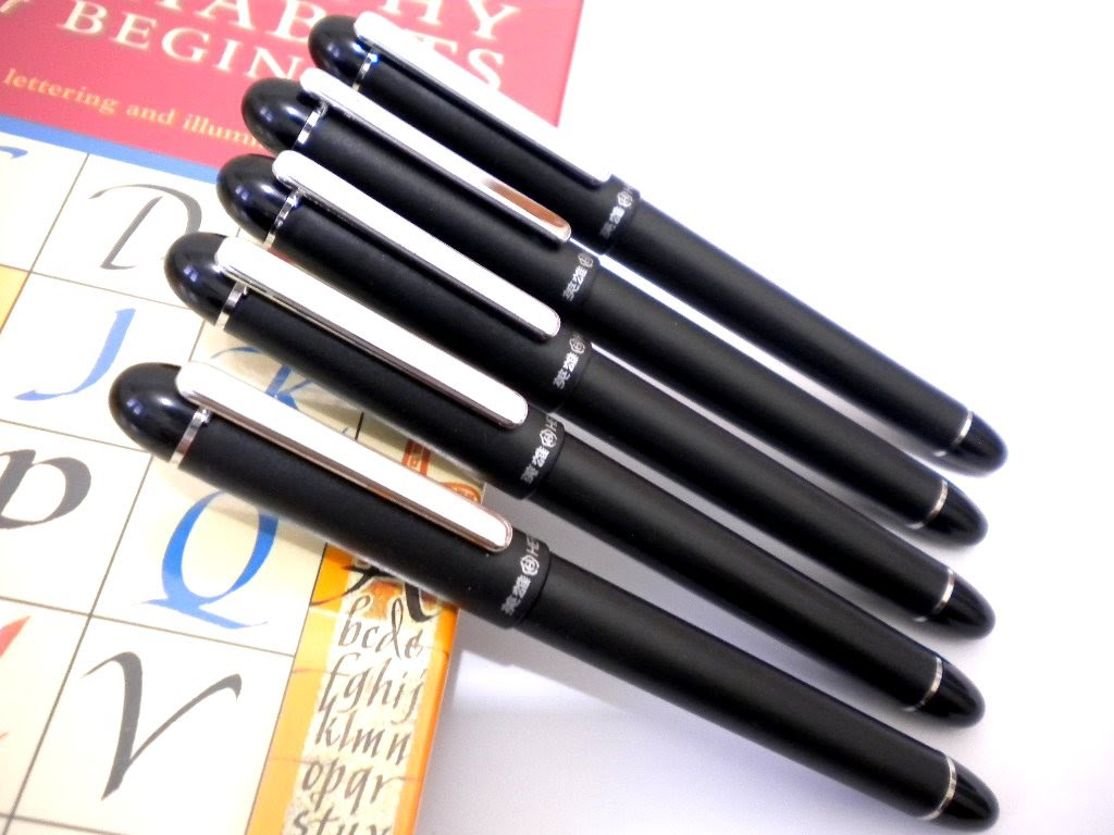 Hero Calligraphy Parallel Fountain Pens 5 Pen Set 5 Nib