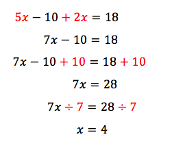 Solving Complex Equations - Year 8 Maths