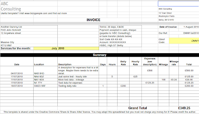 free invoicing tool bizzy people consulting