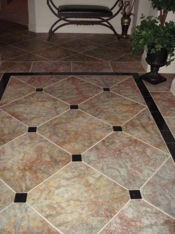 Foyer Tile Job : Tile brdawg