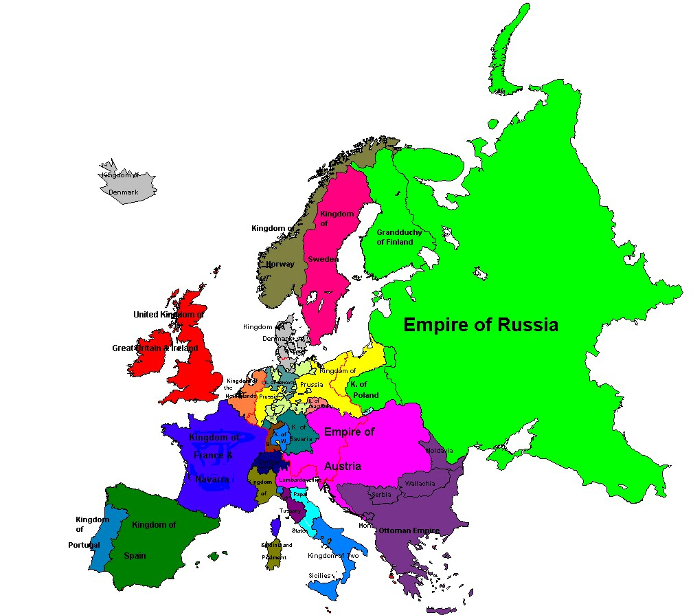 Breakdown Of the Concert of Europe on map of benin kingdom, map of samoa kingdom, map of mali kingdom,