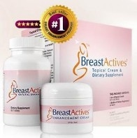 breast Actives Bottles