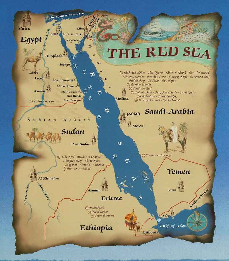 Red Sea Map Red Sea   Brian's House Red Sea Map