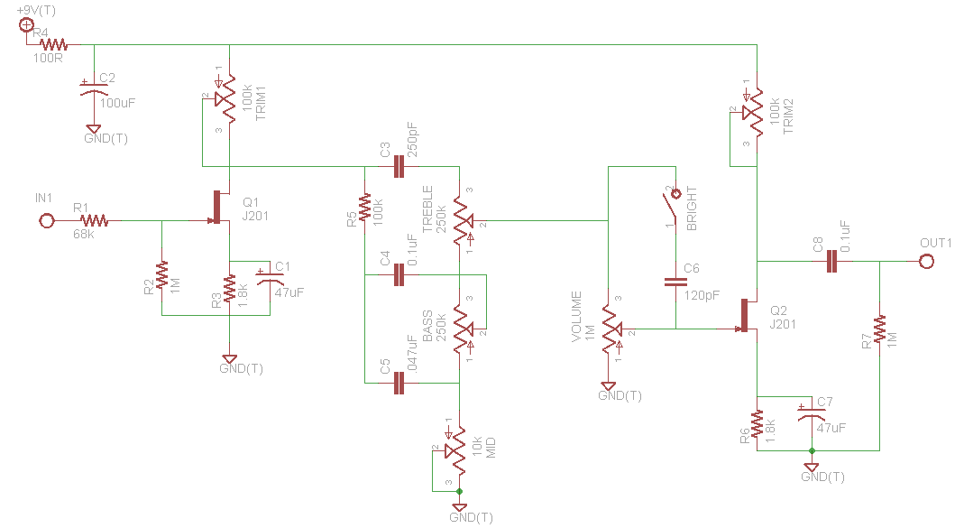 Emg81 likewise Kramer Guitar Wiring Diagrams moreover Pre Mic Microphone Pre lifier 2 Ch By Ic Ne5532 Or Lf353 also Wiring additionally Dimarzio Wiring Diagram. on guitar pickup schematics
