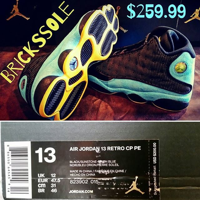 online store d7e5a 28306 Air Jordan 13 Retro Chris Paul Away CP3 PE