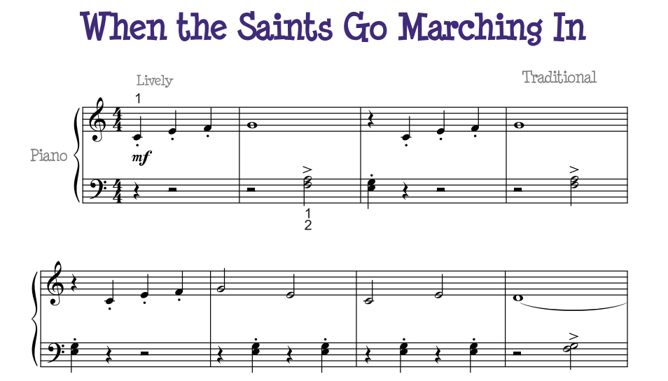 Phase 1 When The Saints Go Marching In Bris Myp Music