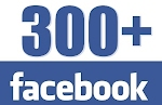 Over 300 Likes on Facebook!