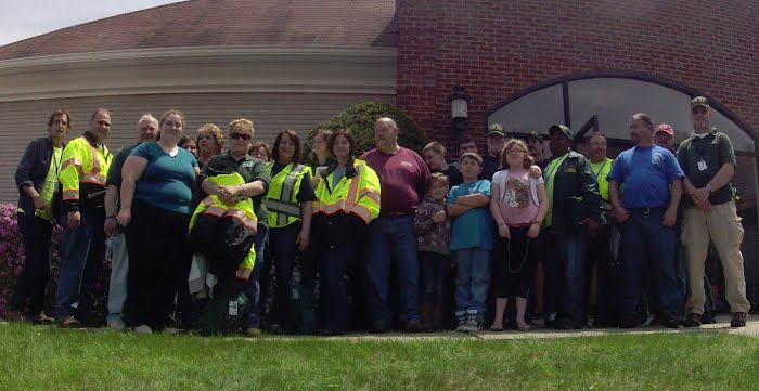 CERT Search and Rescue Class w/Burlington CERT - May 2014