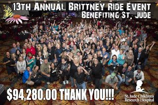 2013 BRITTNEY RIDE EVENT - THANK YOU!