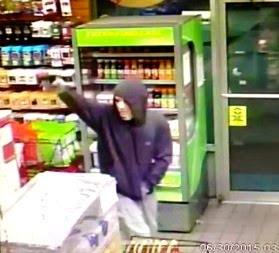 Halloween-Hooligan-Robs-Gas Station-Bronxnews
