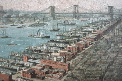 Overall History Brooklyn Queens Waterfront