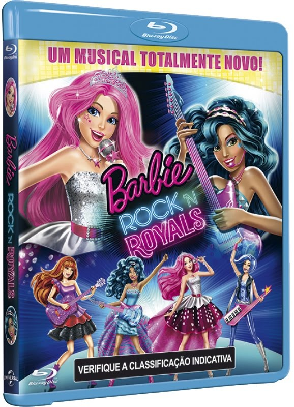 Barbie in Rock 'N Royals 1080p WEB-DL Dublado 5.1 – Torrent Dual Audio (2015) + Legenda
