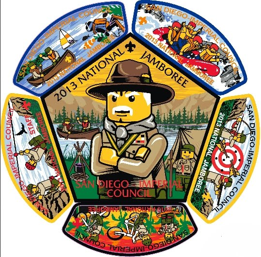 San Diego Imperial Council 2013 Jamboree Patch