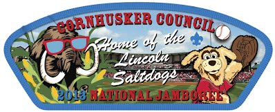 Cornhusker Council 2013 Jamboree Patch