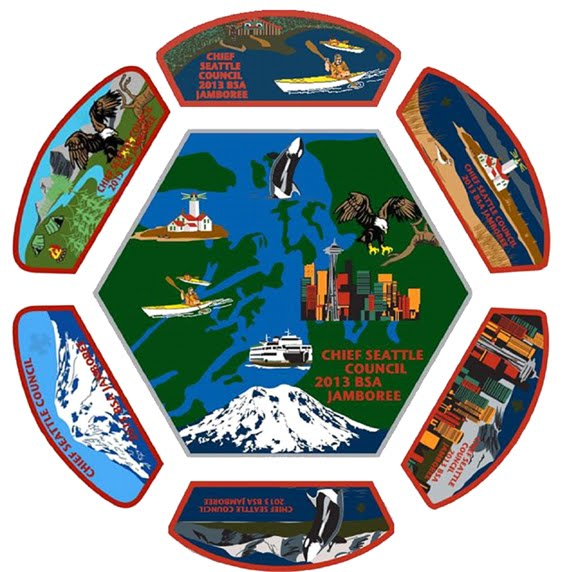 Chief Seattle Council 2013 Jamboree Patch