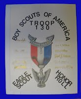 Eagle Scout Honor Roll Plaque #2